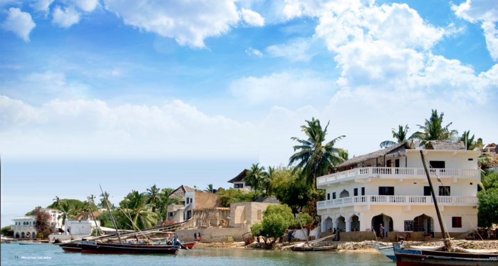 Boat in the Lamu waters