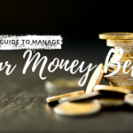stack of coins with words manage your money better
