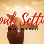 paper airplane aimed at the sun with words goal setting the ultimate guide