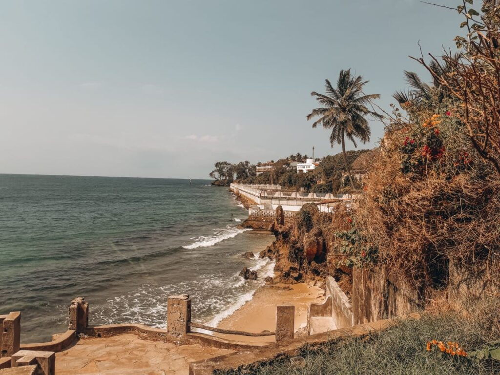 Mombasa waters outside fort Jesus-travel destination in Kenya