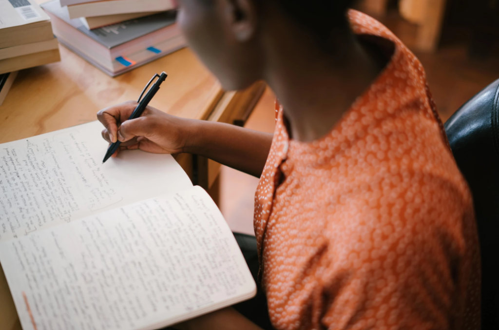 writing down your goals for smarter goal setting