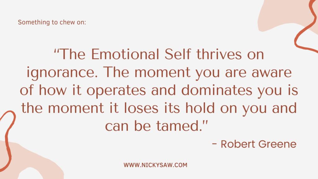 Importance of self-discipline-improves self-awareness